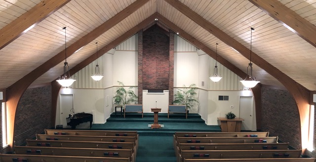 Covenant Baptist Church auditorium